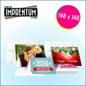 Invitacion Boda Horizontal 148x148 mm